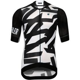 Biehler Neo Classic Koszulka kolarska, krótki rękaw Mężczyźni biały/czarny